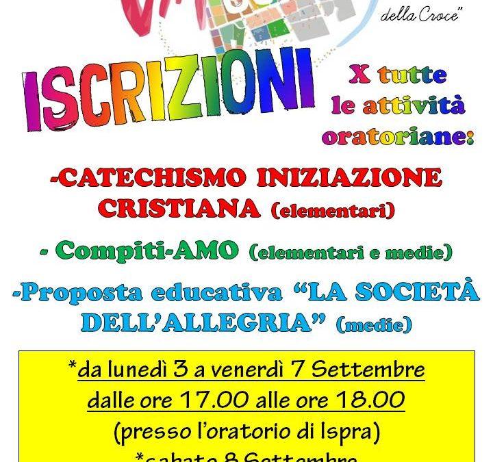Iscrizioni catechismo iniziazione cristiana!